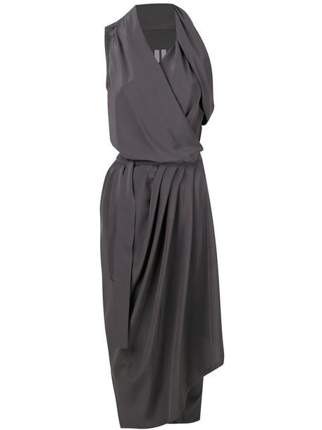 Rick Owens dress women silk grey
