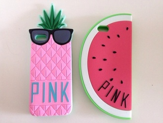 phone cover cover fruits watermelon pineapple funny iphone 4s summer coat