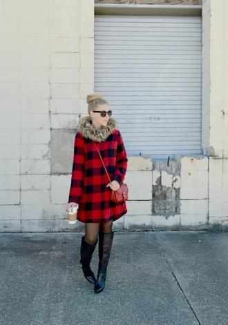 fash boulevard blogger coat shoes bag jewels sunglasses