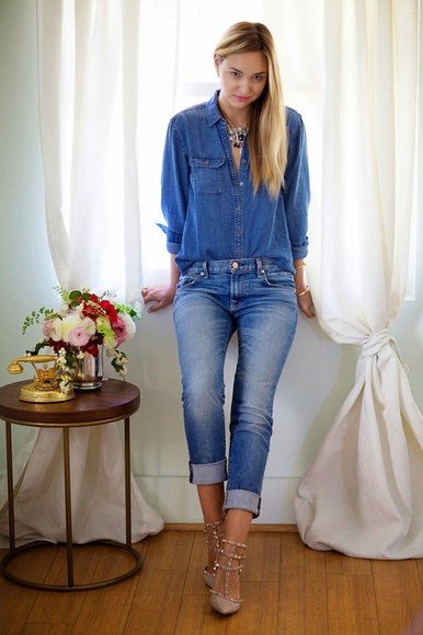 late afternoon blogger top jewels jeans