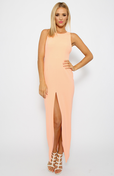 Toby Heart Ginger - Enchanted Formal Dress - Peach   Back In Stock   Clothes   Peppermayo