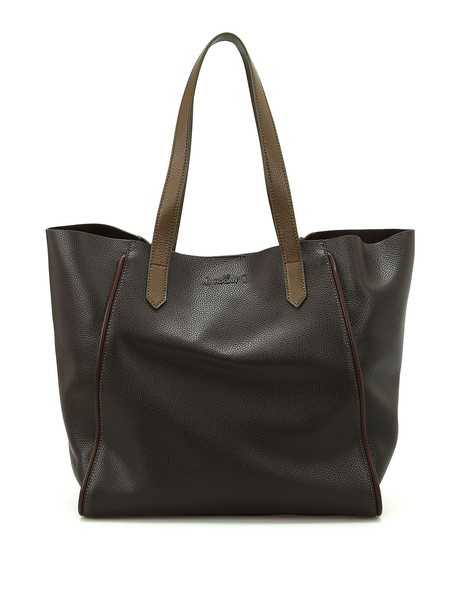 Hogan leather brown bag