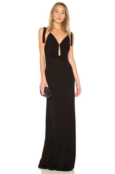 No. 21 dress maxi dress maxi sleeveless black