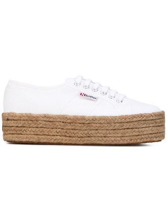 women sneakers lace white cotton shoes