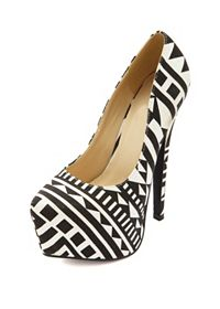 Search Results on 'aztec heels': Charlotte Russe