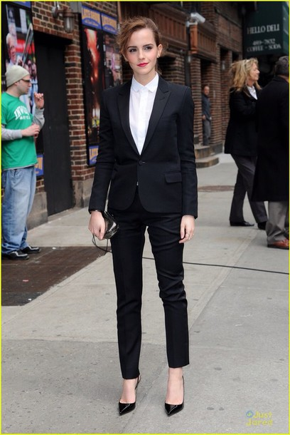 jumpsuit suit emma watson jacket chicityfashion blogger shoes skirt hat