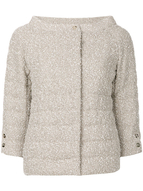 Herno jacket women nude cotton