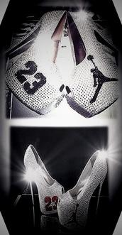 shoes,jordan heels