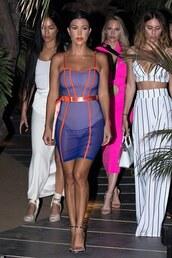 dress,sheer,kourtney kardashian,kardashians,celebrity,mini dress