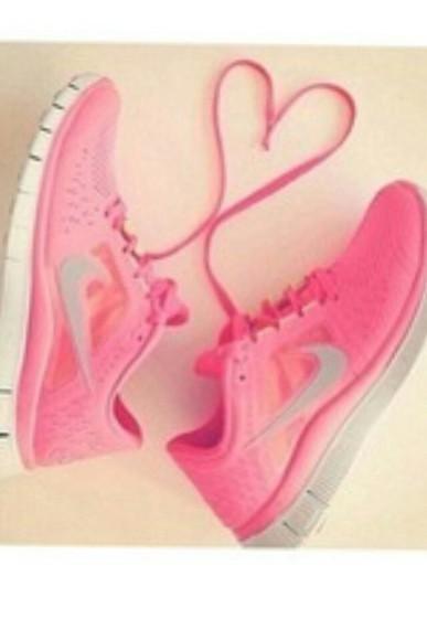 pink shoes nike shoes pink nikes pink nike shoes