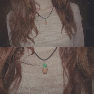 jewels grunge unif kawaii necklace brandy melville plants tumblr choker necklace urban outfitters fairy kei
