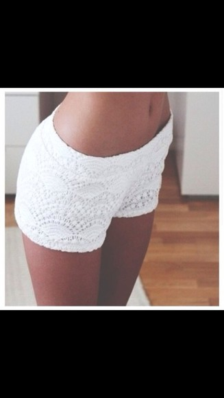 soft white summer outfits shorts loveit short white lace shorts swimwear