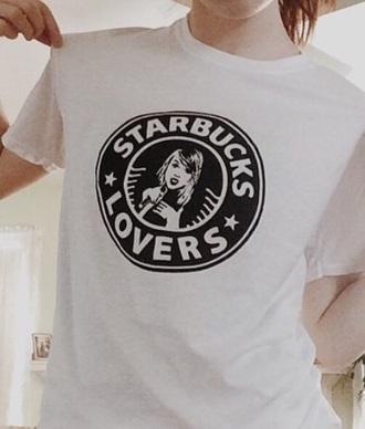 shirt taylor swift starbucks coffee