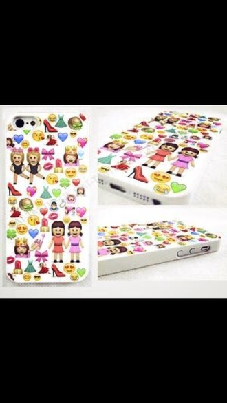 phone cover emoji print swag print iphone