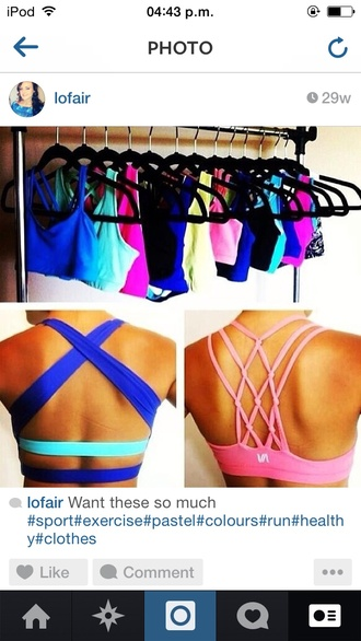 top bralette bra bandeau bikini nike nike sportswear sportswear sports bra pastel pastel pink instagram cute fitness