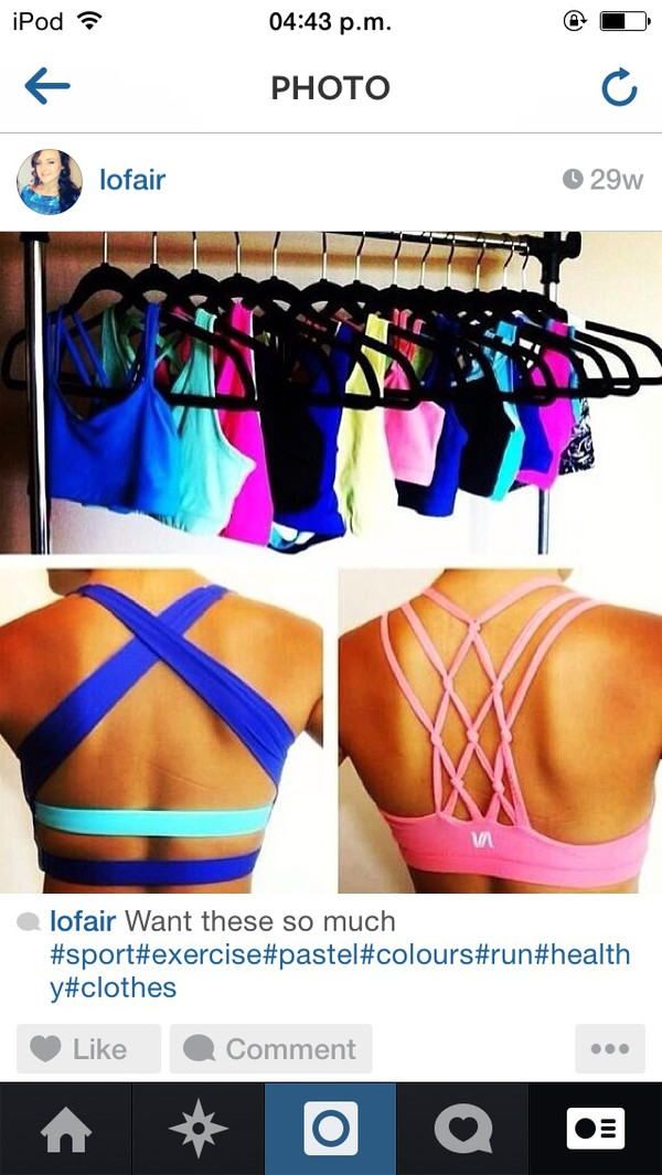 top bralette bra bandeau bikini nike nike sportswear sportswear sports bra pastel pastel pink instagram cute sportswear fitness shirt
