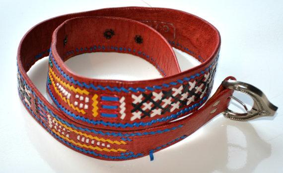 CEINTURE sudouest  Abaco ceinture  ceinture par PetalleCreations