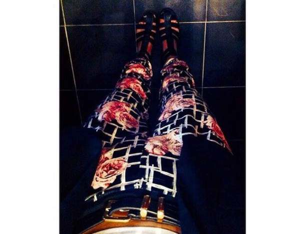pants pants check