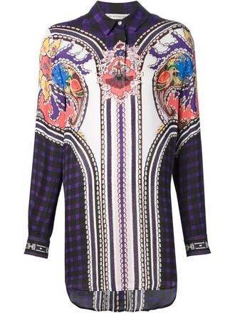 blouse print paisley top