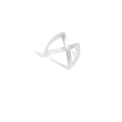 V- ring sterling zilver