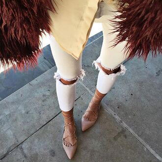 coat nastygal shag fur wine shaggy fashions style trendy winter outfits warm fashion week