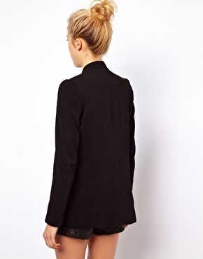 ASOS | ASOS Premium Blazer With Longline Lapel at ASOS