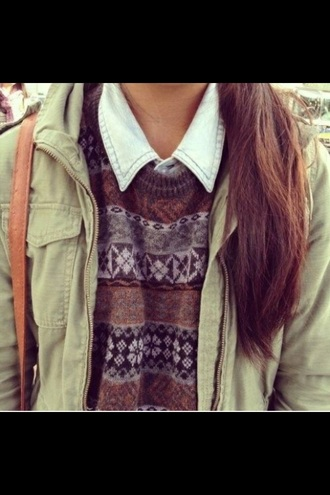 sweater indie grunge indie sweater grunge top