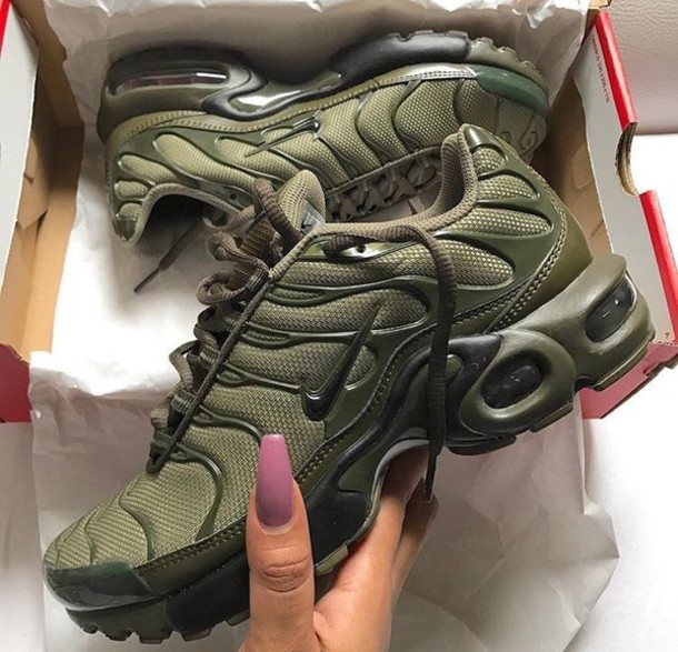 new arrivals 22866 a8c33 shoes nike nike tns nike shoes nike running shoes nike tns khaki green nike  air max