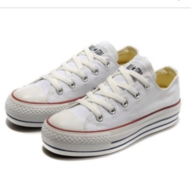 shoes converse low top creepers platform shoes