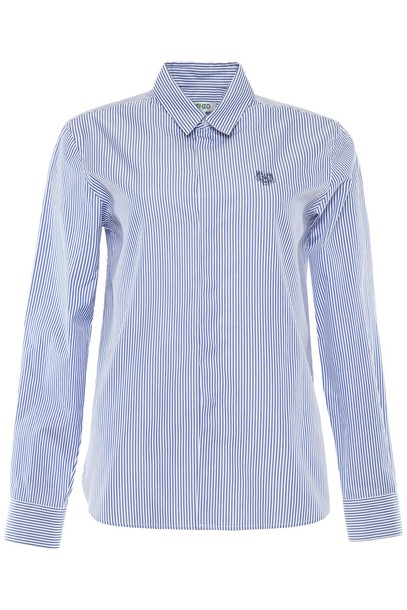 Kenzo shirt striped shirt embroidered tiger top