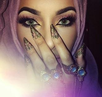 nail accessories ring nails jewelry jewels beautiful