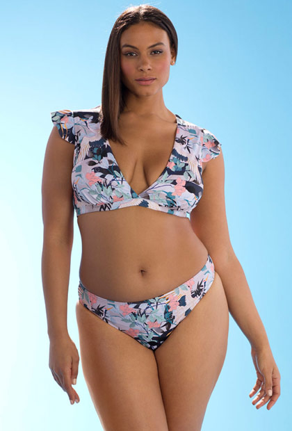 ef6b2671c Ashley Graham x Swimsuits For All Bonsai Bikini | Swimsuits For All