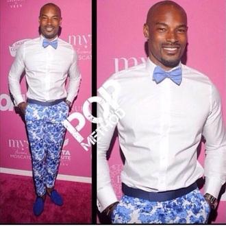 pants blue print pant nice stylish trendy sexy chocolate swag classy chic style fashion