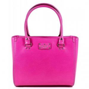 Kate Spade New York Fiesta Rose Pink Wellesley Quinn Tote - Sale