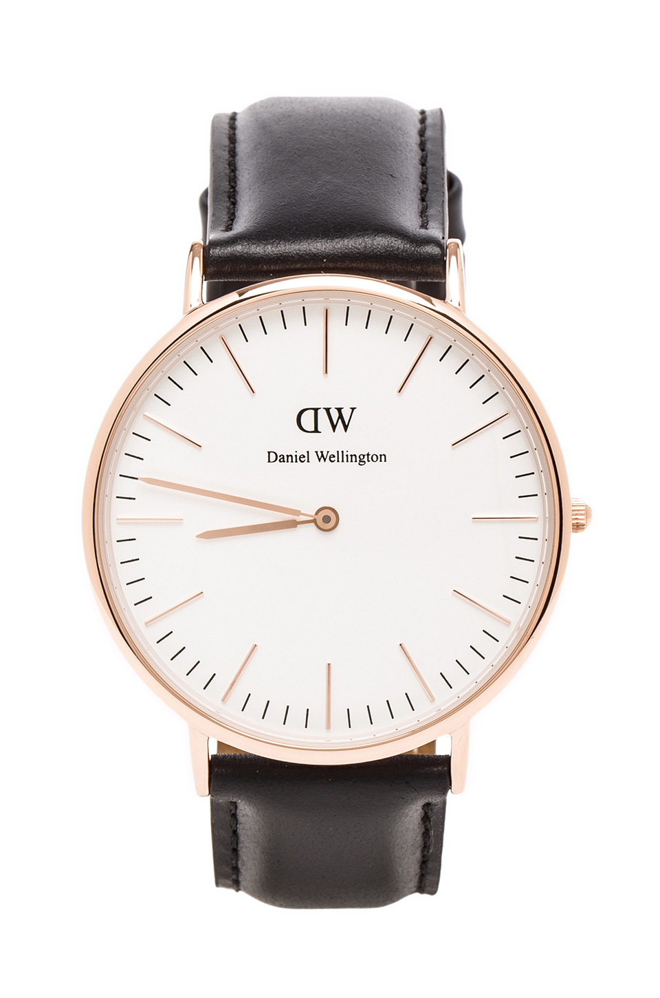 Daniel Wellington Sheffield 40mm in Rosegold | REVOLVE