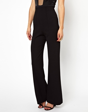 AQ AQ | AQ AQ Laurent Pant With High Waist And Wide Leg at ASOS