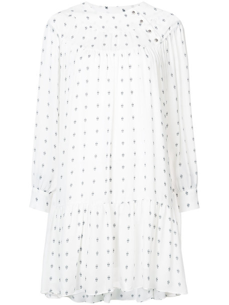 Thomas Wylde dress women white silk