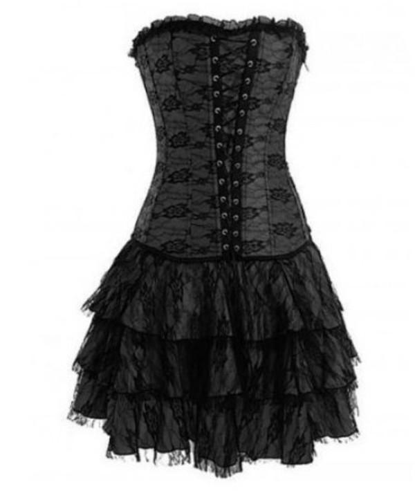 dress ebay black dress goth lace dress