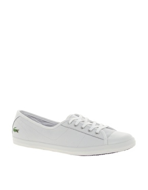 Lacoste | Lacoste Ziane Lace Up Plimsolls at ASOS