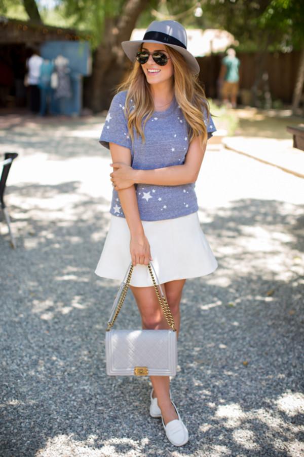 gal meets glam skirt shoes bag sunglasses