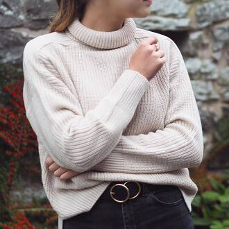 sweater white sweater tumblr turtleneck turtleneck sweater knit knitted sweater