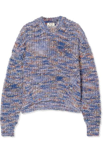 Acne Studios sweater blue knit