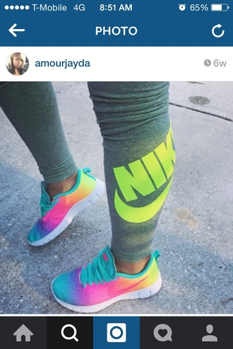 leggings neon nike pro leggings nike running shoes