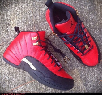 shoes omg i need these so bad jordans style glo gang red shoes