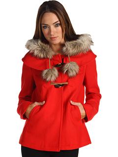 Juicy couture pom pom coat
