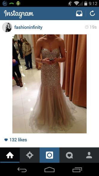 gold sequins prom dress homecoming dress glitter dress