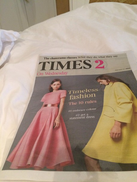 dress bubble gum pink front cover of tomes 2 today
