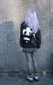 bag,jacket,kawaii,kawaii bag,polka dots,tights,black tights,stockings,polka dots tights,funny tights,nylons,gothic lolita