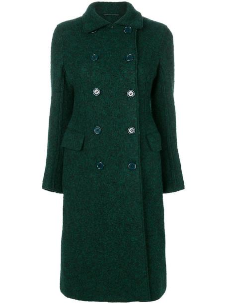 ASPESI coat double breasted women wool green