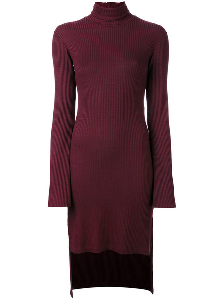 Mm6 Maison Margiela dress high women spandex red